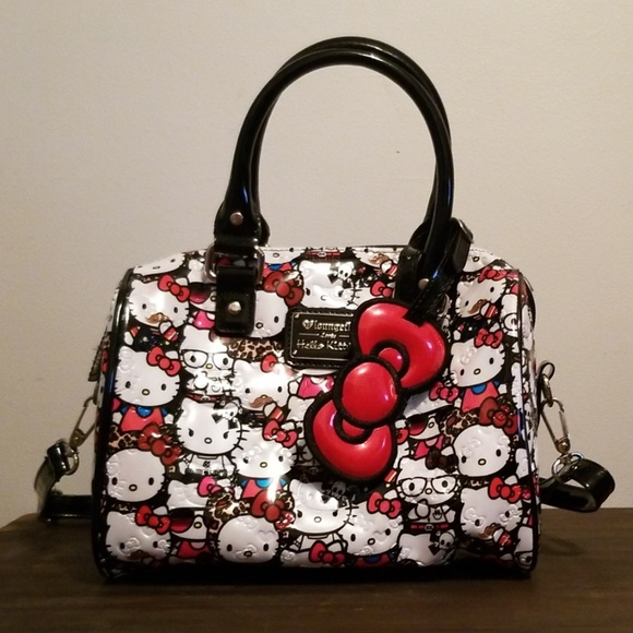 8dc224a3a Loungefly Handbags - Loungefly Hello Kitty All Stars Embossed Mini Bag